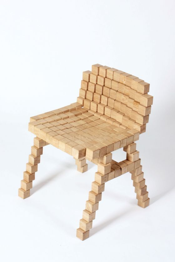 The Blocks Collection chair
