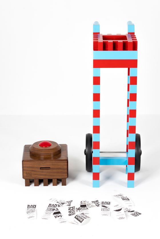 Random Machine by Sssssst and Studio Erik Stehmann